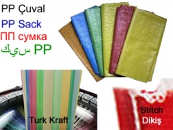 PP Woven Bag Producers TurkKraft PP SACK MANUFACTURING