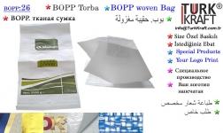 PP Woven Bag Producers TurkKraft Bopp  Baskılı  Çuval imalatı 26